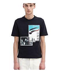 Raf Simons - Black Green Eye T-Shirt for Men - Lyst