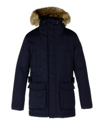 Napapijri | Blue Full-length Jacket for Men | Lyst