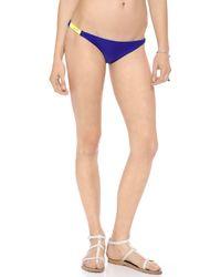 Basta Surf | Multicolor Zunzal Reversible Bikini Bottoms - Grecian Flower/Babe Blue | Lyst