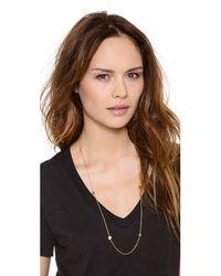 Gorjana Metallic Chaplin Wrap Necklace