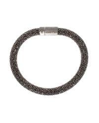 Carolina Bucci | Black Twister Bracelet | Lyst