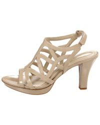 Naturalizer Natural Danya Women N/s Open Toe Synthetic Nude Sandals