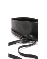 B-Low The Belt | Black Ana Wrap Belt | Lyst