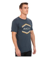 RVCA | Green Double Hex Vintage Tee for Men | Lyst