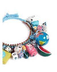 Venessa Arizaga Blue 'around The World' Bracelet