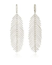 Sidney Garber | Metallic Feathers That Move Earrings | Lyst