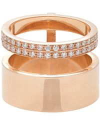 Repossi | Metallic Women's Berbere Module Midi Ring | Lyst