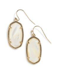 Kendra Scott - Metallic 'alexandra' Large Drop Earrings - Lyst