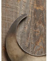 Free People - Metallic Vintage Silver Neck Plate - Lyst