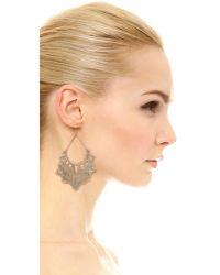 Pascale Monvoisin | Metallic Sweet Jane Earrings - Gold | Lyst