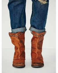 Free People Brown Womens Wayland Boot