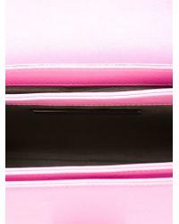 Christopher Kane - Pink Safety Buckle Shoulder Bag - Lyst
