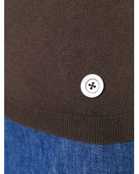 Moschino - Brown Sleeveless Turtleneck Top - Lyst