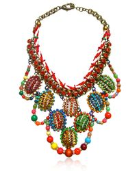 Sveva Collection Multicolor Candy Necklace