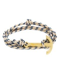 Miansai | White Anchor Rope Bracelet | Lyst