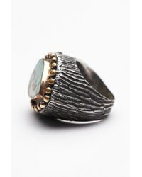 Free People | Metallic Bora Womens Turquoise Teardrop Ring | Lyst