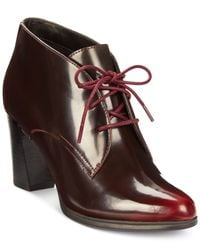 Clarks | Purple Artisan Women's Kadri Alexa Lace-up Booties | Lyst