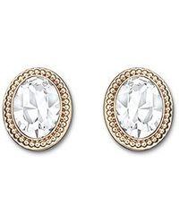 Swarovski Metallic Arrive Pierced Earrings