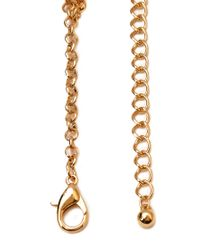 Forever 21 Metallic Boogie Nights Layered Necklace