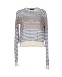 Le Mont St Michel | Gray Sweater | Lyst