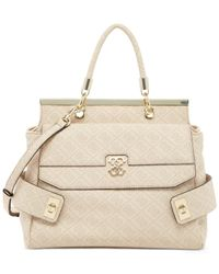 Guess | Natural Carnivale Satchel | Lyst