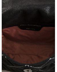 Stella McCartney - Black Falabella Quilted Shoulder Bag - Lyst