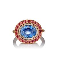 Irene Neuwirth - Blue Mixed-gemstone Ring - Lyst