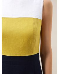 Hobbs Multicolor Linen Sierra Dress