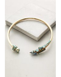 Elizabeth Cole   Blue Logan Collar Necklace   Lyst