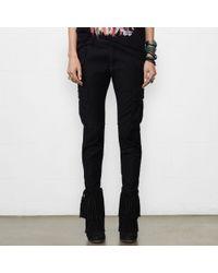 Denim & Supply Ralph Lauren | Black Skinny Freedom Cargo Pant | Lyst