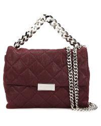 Stella McCartney - Pink Beckett Quilted Shoulder Bag  - Lyst