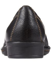 Clarks - Black Collection Women's Recent Alley Flats - Lyst