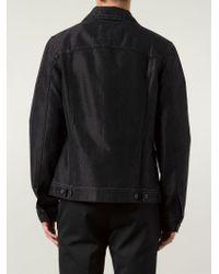 Lanvin   Black Denim Jacket for Men   Lyst
