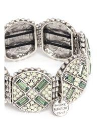 Philippe Audibert | Green Juline Ethnic Cross Bracelet | Lyst