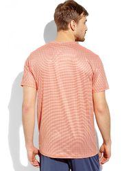 Weatherproof - Orange 32 Degrees Stripe V-Neck Tee for Men - Lyst