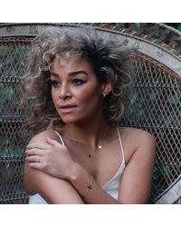 Talia Naomi - Metallic Fly Me To The Moon Bracelet Gold - Lyst
