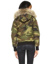 Canada Goose | Green Chilliwack Bomber Jacket | Lyst