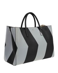 Anya Hindmarch - Black Ebury Maxi Featherweight Chevron Tote Bag - Lyst