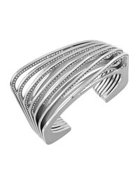 Vita Fede - Metallic Futturo Crystal Cuff Bracelet - Lyst