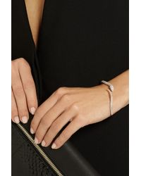 Anita Ko - Metallic 18-Karat Rose Gold, Diamond And Tsavorite Bracelet - Lyst