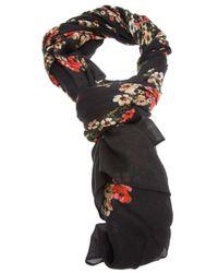 Dolce & Gabbana Multicolor Floral Scarf
