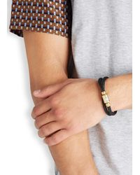 Miansai | Black Maritime Rope Bracelet for Men | Lyst