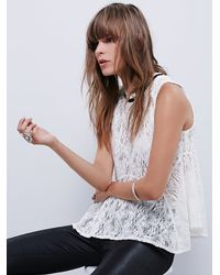 Free People - Natural Womens All Star Tank - Lyst