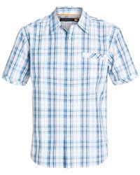 Quiksilver | Blue Waterman Todos Santos Plaid Shirt for Men | Lyst
