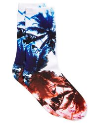 Vince Camuto - Multicolor Women's Printed Trouser Socks - Lyst