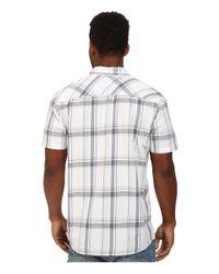 Rip Curl | White Los Molinos Short Sleeve Shirt for Men | Lyst