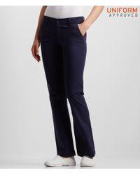 Aéropostale | Black Classic Uniform Twill Pants | Lyst