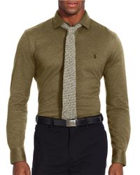 Polo Ralph Lauren | Green Knit Estate Dress Shirt for Men | Lyst