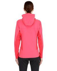 Arc'teryx Pink Procline Hybrid Power Stretch Jacket