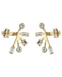 Elizabeth and James | Metallic Sol Ear Jacket Earrings | Lyst